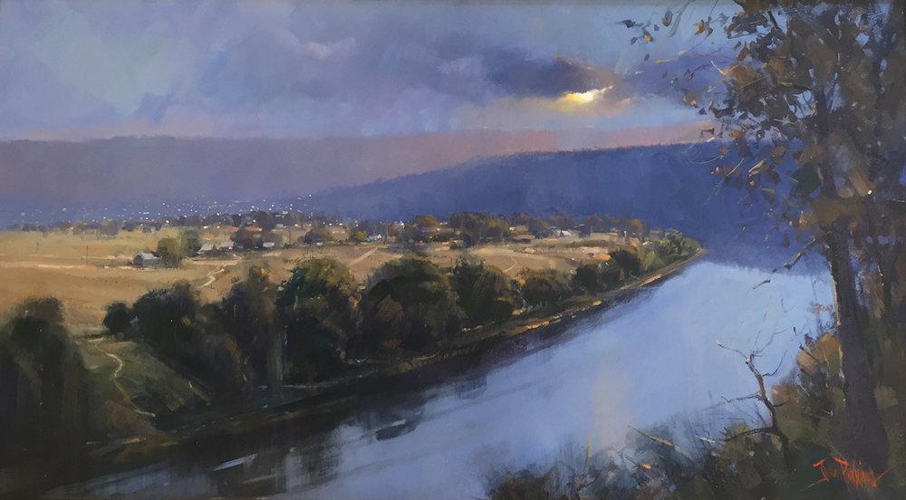Hawkesbury Dusk by John Perkins FRAS