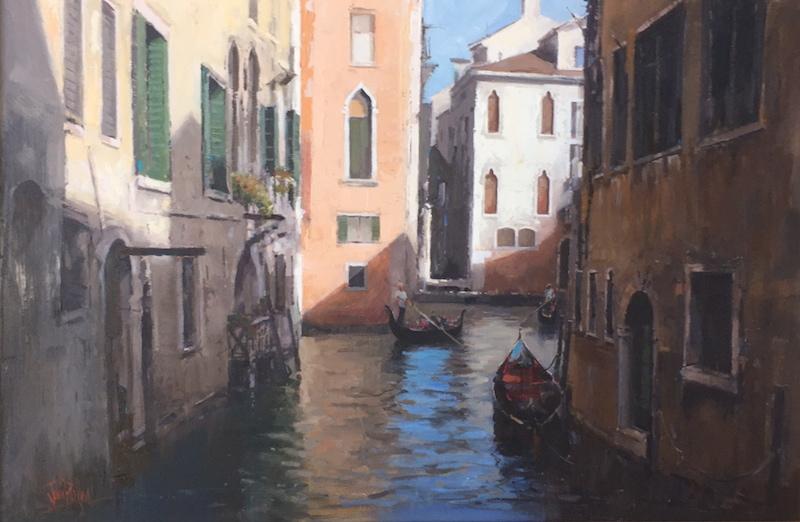 Venice Canal by John Perkins FRAS