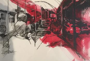 The Ride Home II by Lesley O'Shea FRAS