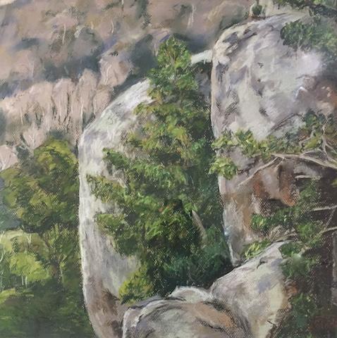 Big Bays Central Tilba by Anne Slade