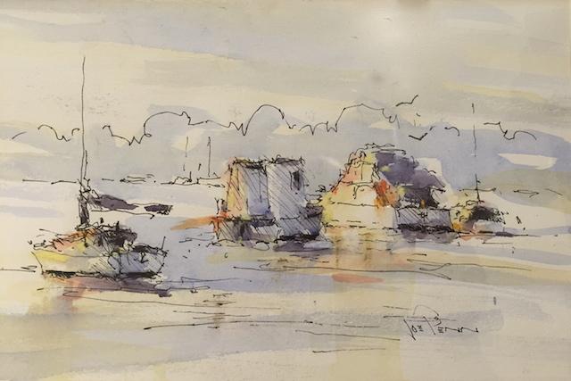 Foggy Morning, Middle Harbour by Joe Penn FRAS