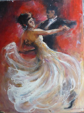 The Waltz by Leeka Gruzdeff FRAS