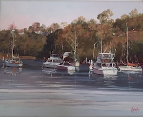 Moorings by Fay Joseph ARAS