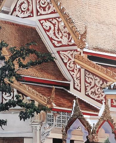 Thai Tapestry by Teri Hiley ARAS