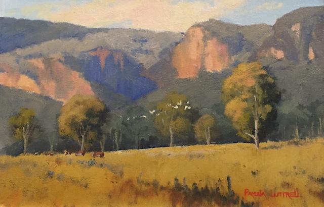Afternoon Light Glen Alice by Pamela Luttrell ARAS