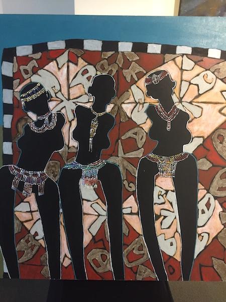 Zulu Girls by Cilla Davis FRAS