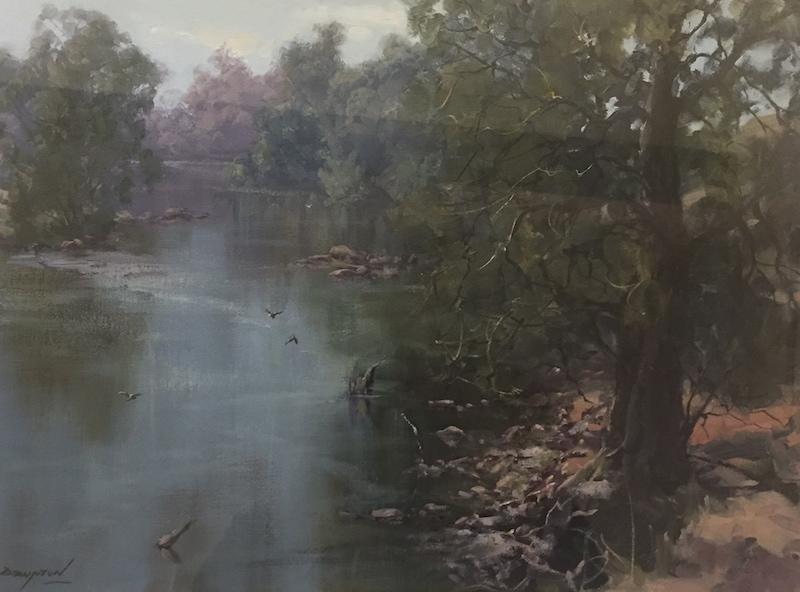 River at Peace, Murrumbidgee by John Downton FRAS