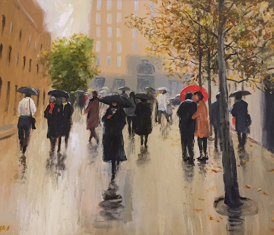 Martin Place by Doris Kaminski FRAS