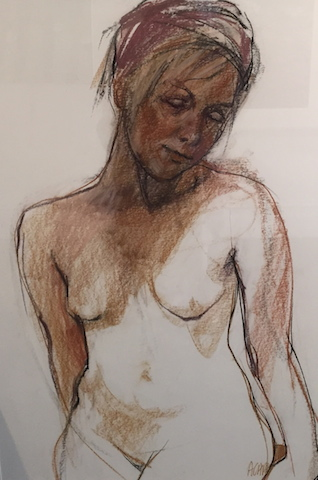 Seated Nude by Ann Cape FRAS