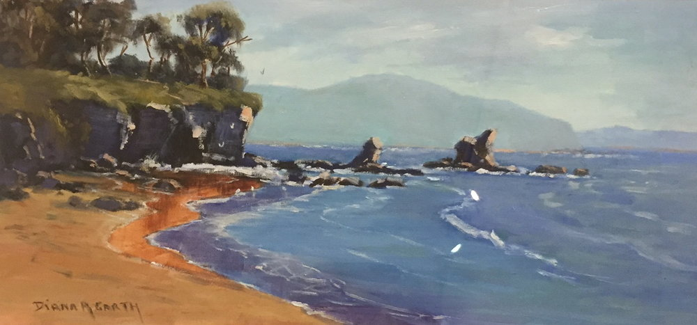 Casey's Beach, Batehaven by Diana Garth