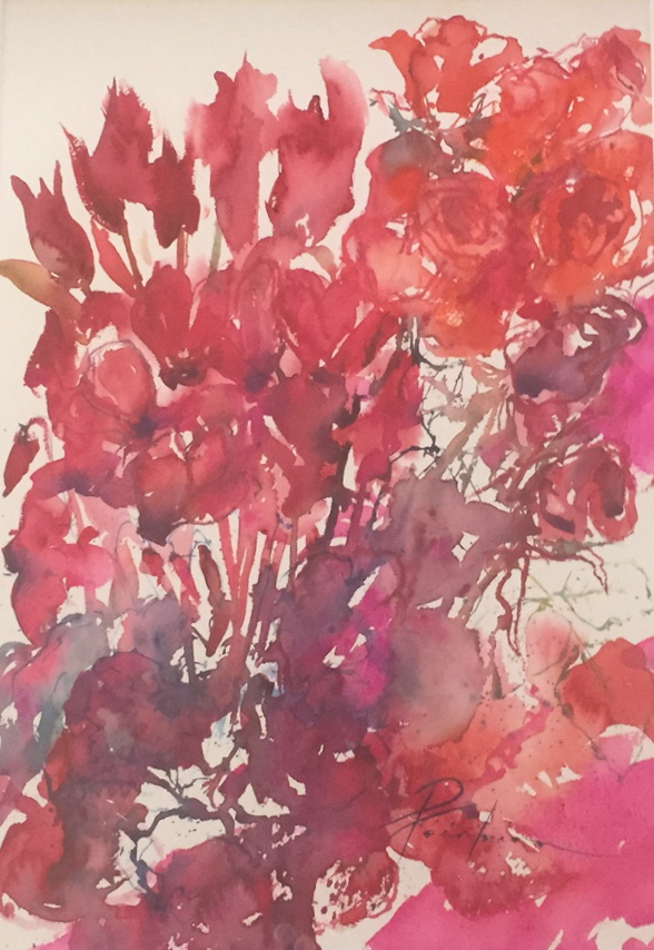 Spring Reds by Pamela Fairburn ARAS