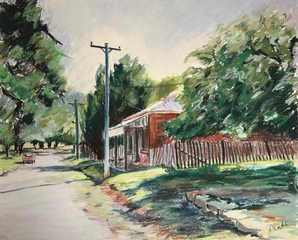 Quiet Street Hill End