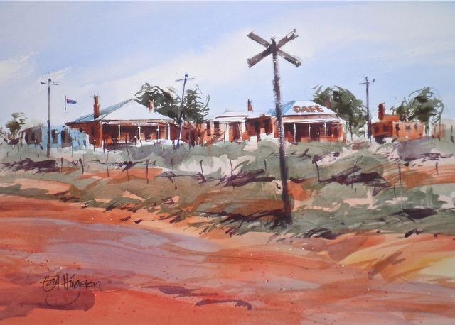 Now No Trains, Silverton Outback