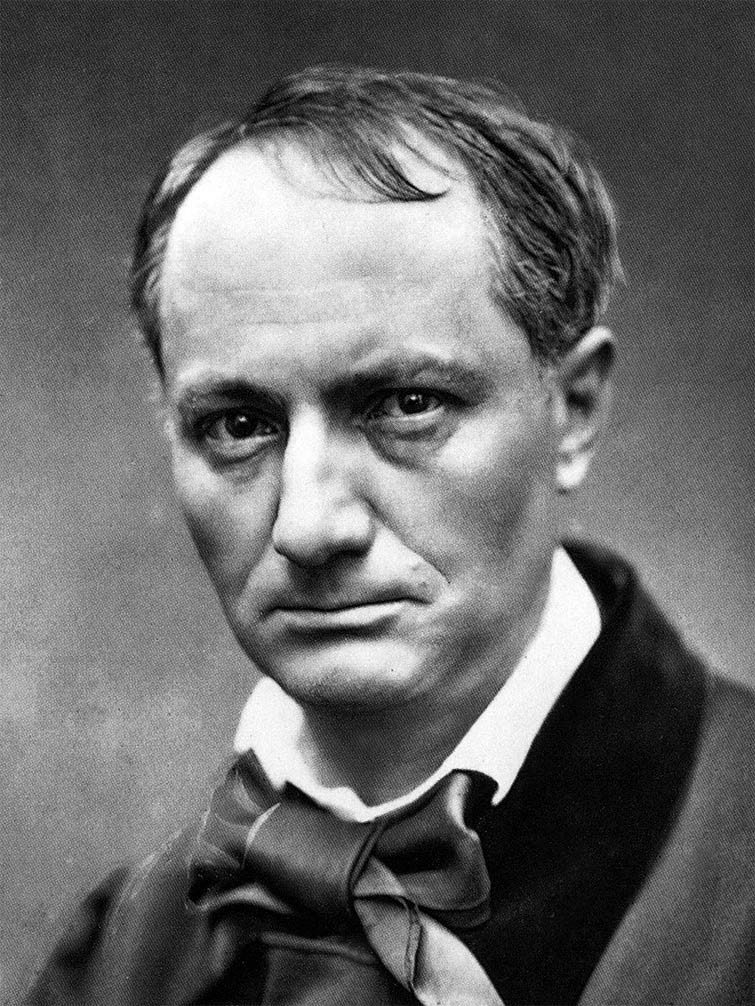 Charles Baudelaire, the first modernist