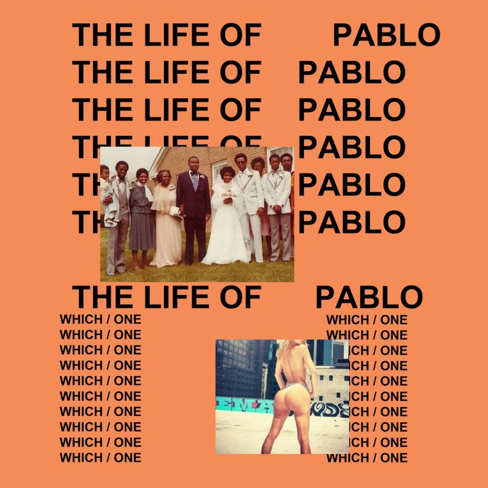 Cover of The Life of Pablo.