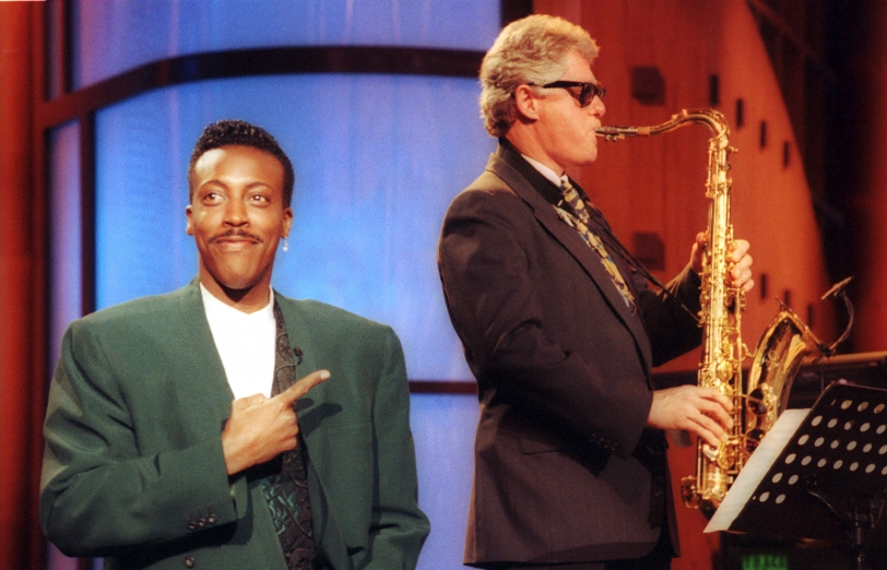 Bill on  Arsenio Hall