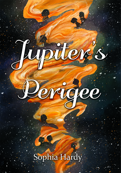 Jupiter's Perigee   ,  a collection of poetry about the lives of several characters during a time when Jupiter has moved its closest to the earth. It's about excess, wealth, love, entrapment, unease, loss, and the divine.
