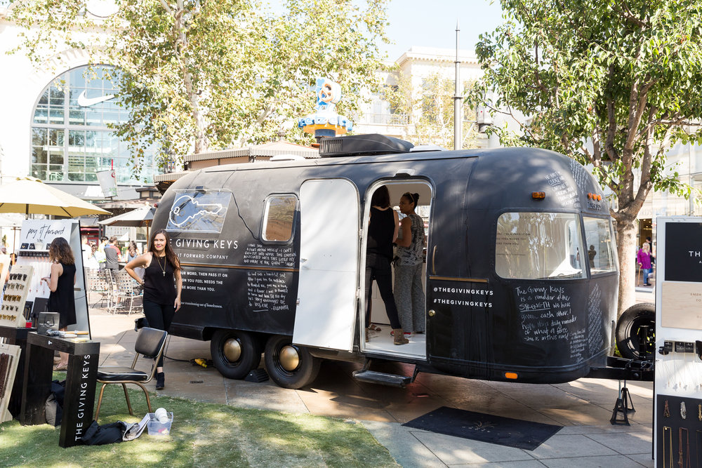 The Giving Keys Airstream