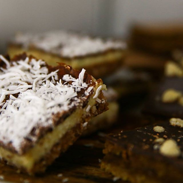 Have you tried these sweet treats? Our favourite is the bounty slice! #raw #delights @rawearthco  #goodvibesonly #goodday #greatweek #coffee #coffeespo #dewdrinkeatwork #procaffeinating #productivity #adelaide #adelaidecoffeespot #cafe #instacoffee #coffeeaddict #coffeegram #coffeeoftheday #cotd #coffeelover #coffeelovers #coffeeholic #coffeelove #Westend #coffeeholic #coffeelife #baristalife #breakfast #coworking