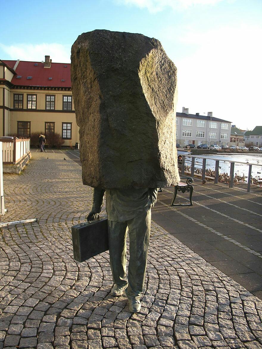 El funcionario desconocido, Reykjavic, Islandia