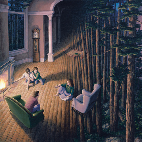 Bienvenidos al mundo mágico surrealista de Rob Gonsalves