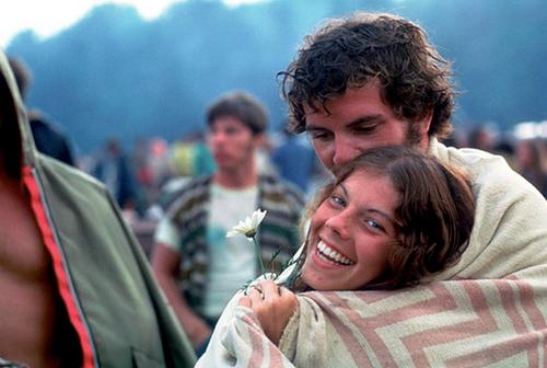 El tan famoso fenómeno Woodstock representado en su máximo esplendor.