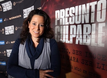"""Layda Negrete: Coproductora del documental """"Presunto Culpable"""" dedicada a promover la tranformación del sistema judicial de México durante 15 años."""