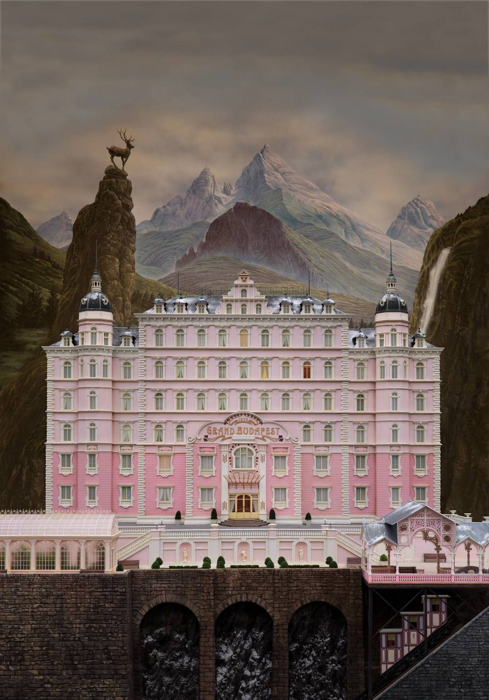 Hotel Grand Budapest (2014) - Wes Anderson