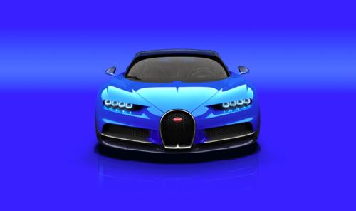 Éste es el Chiron, el nuevo coche más poderoso del mundo.