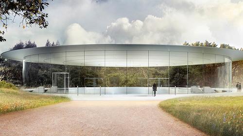 Un vistazo al nuevo campus de Apple