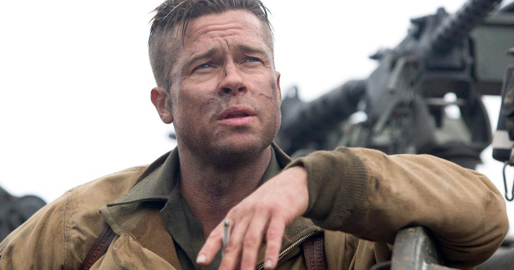 Brad Pitt en  Fury