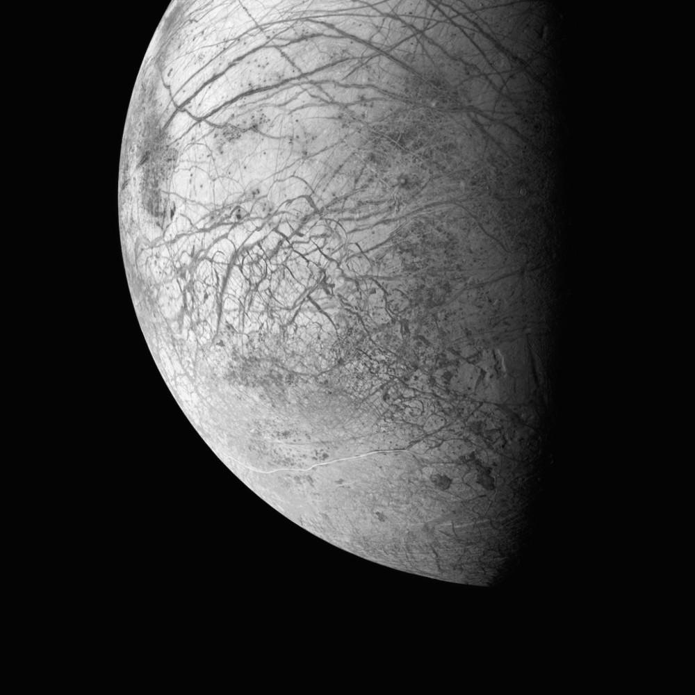 Galileo, una de las lunas de Júpiter. 29 de Marzo de 1998