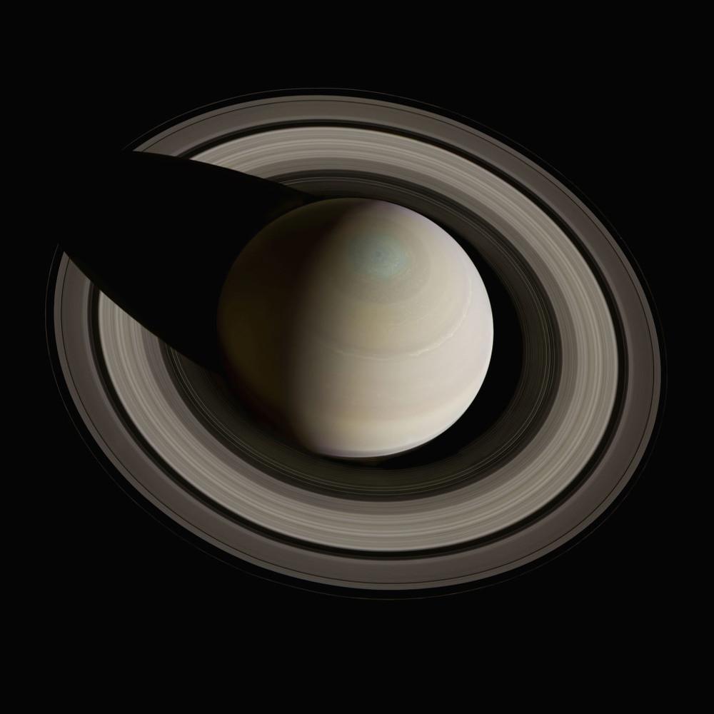 Foto de Saturno generada a través de 36 fotos y empleando filtros de color. 10 de octubre de 2013.