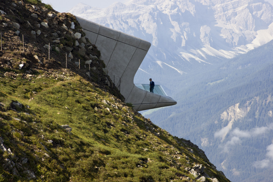 El Messner Mountain Museum, en Italia