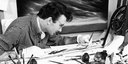 Norman McLaren, uno de los pioneros más importantes de la animación