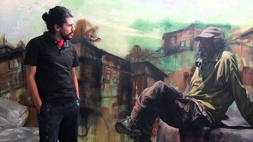 PAREDES LIBRES: Entrevista a Libre Gutiérrez, muralista de corazón.