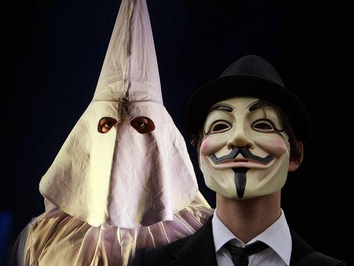Anonymous cierra el sitio web del Ku Klux Klan