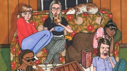 Sally Nixon y su fresco universo femenino sin apariencias