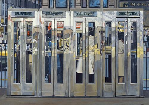 Échenle un ojo al hiperrealismo de Richard Estes