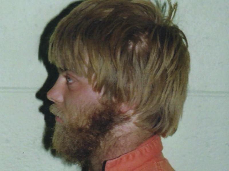 Fotografía de 1985, Avery a los 23 años condenado.
