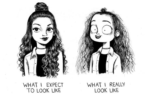 Cassandra Calin: La ilustradora que expone a la perfección los problemas simples de cualquier mujer