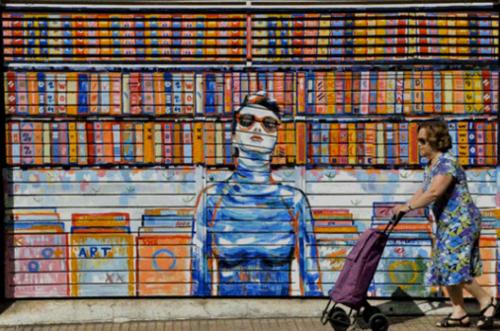 Los murales vivos de A.L Crego