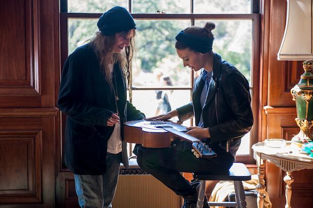 Patti Smith y Rooney Mara