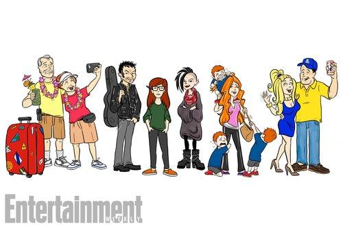 Así serían los personajes de Daría 20 años después de su estreno.