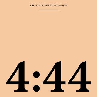 13. JAY-Z -4:44 - El intérprete con más discos número uno del Billboard desde que se fundó en 1956, nos entrega uno de los discos más trabajados y sustanciosos que ha tenido (letrísticamente).Sincerandose como nunca, el proyecto gira en torno a Beyonce y su brillante