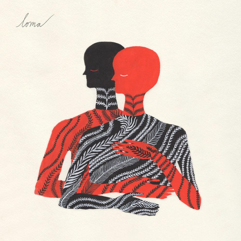 Loma - Loma - La química instrumental de este disco experimenta con los espacios, pues se puede percibir la lejanía o cercanía de los sonidos. Es un álbum de esencia solitaria y sombría.
