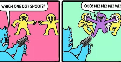 El humor negro de los comics de Mr. Lovenstein