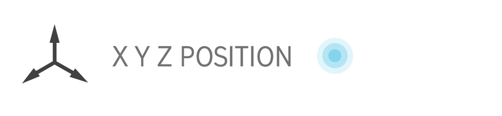Position tracking XYZ sensor biofeedback