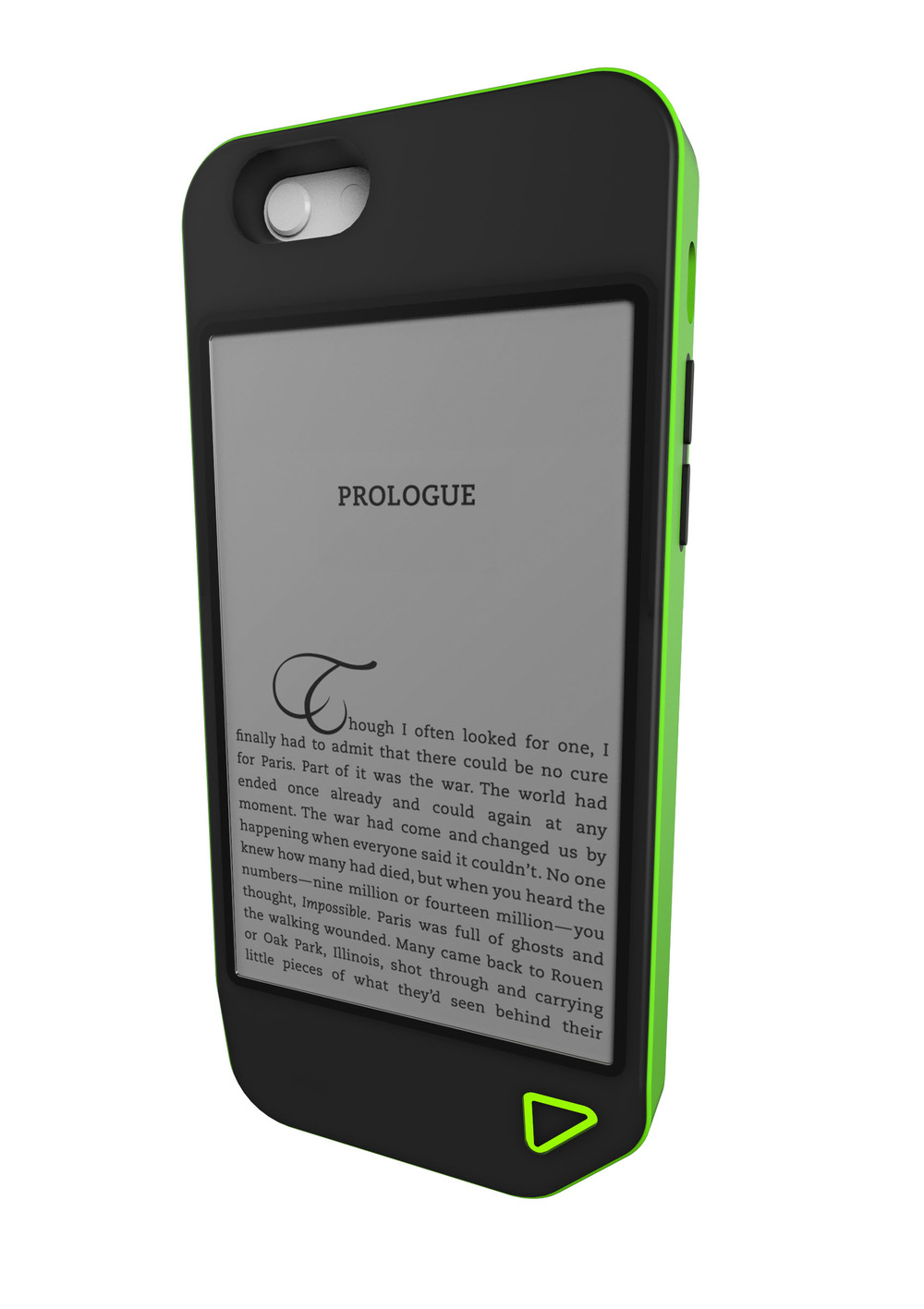 lithocase e-reader e-ink scroll read kindle case e-ink engineering  colorado boulder