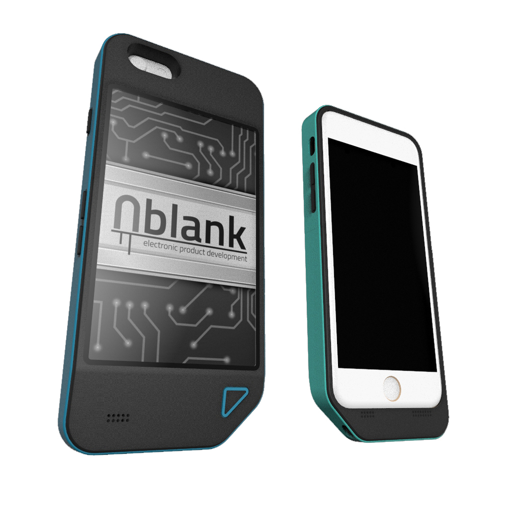 e-ink iphone case rendering keyshot industrial design